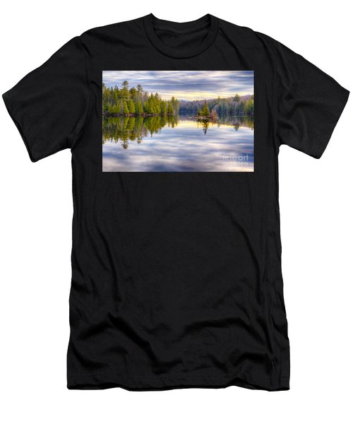 Reflections Of Lake Abanakee Men's T-Shirt (Athletic Fit)