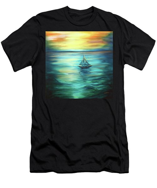 Reflections Of Peace Men's T-Shirt (Athletic Fit)