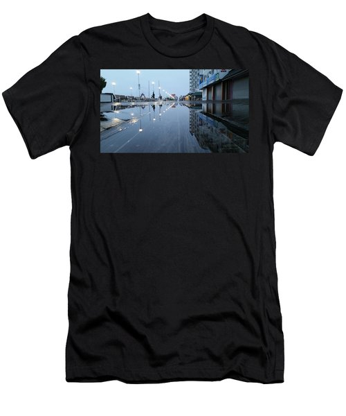 Reflections Of The Boardwalk Men's T-Shirt (Athletic Fit)
