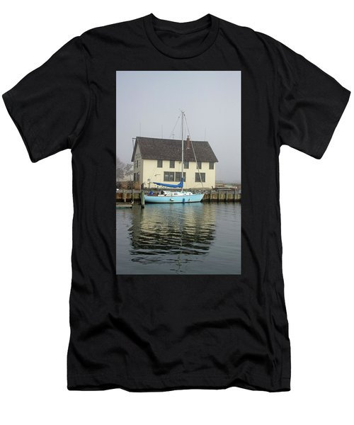 Reflections Of The Boat Builder Men's T-Shirt (Athletic Fit)
