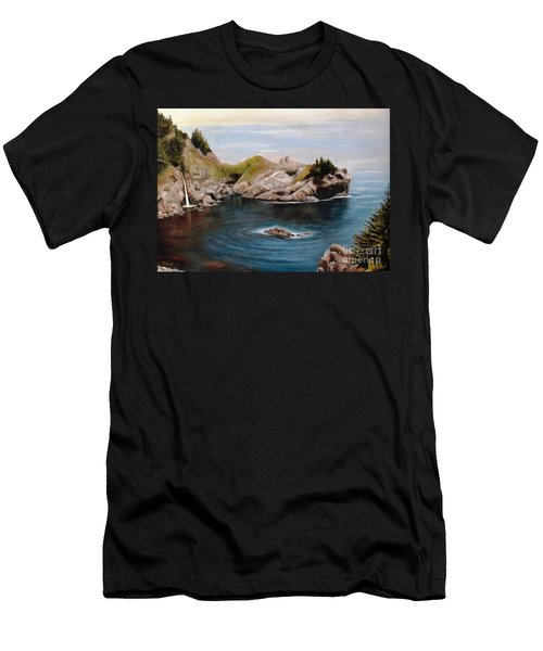 Reflections Of The Past Men's T-Shirt (Slim Fit) by Hazel Holland