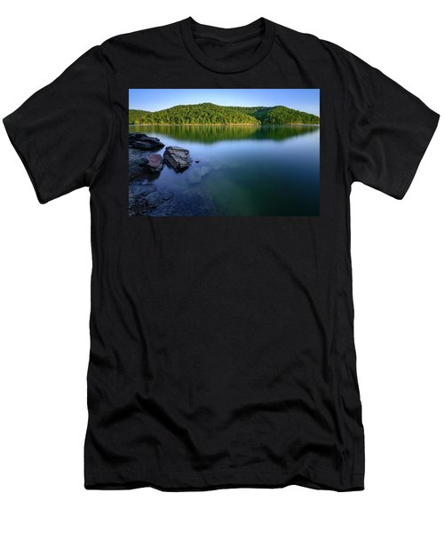 Reflections Of Tranquility Men's T-Shirt (Athletic Fit)