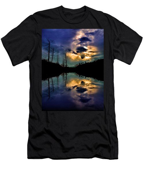 Men's T-Shirt (Slim Fit) featuring the photograph Reflections by Tara Turner