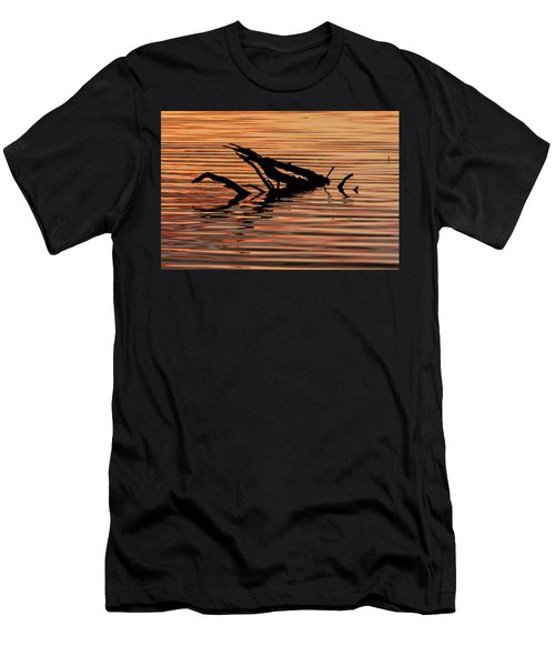 Reflective Abstract Men's T-Shirt (Athletic Fit)