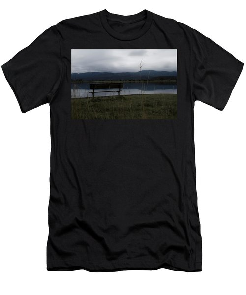 Reflective Solitude Men's T-Shirt (Athletic Fit)