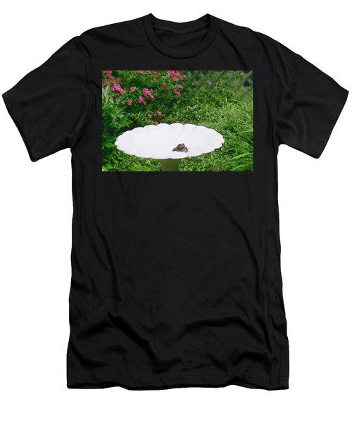 Men's T-Shirt (Slim Fit) featuring the digital art Refreshing by Barbara S Nickerson