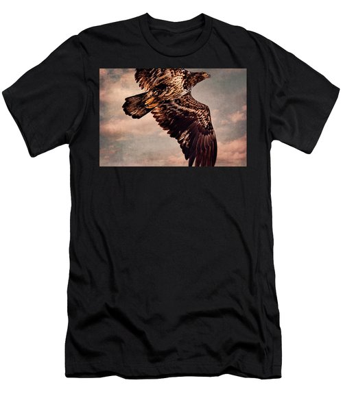 Regal Eagle Men's T-Shirt (Slim Fit) by Peggy Collins