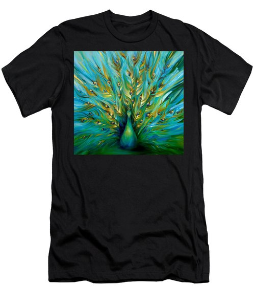 Regal Peacock Men's T-Shirt (Athletic Fit)