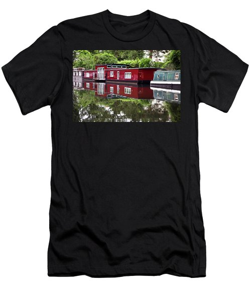 Regent Houseboats Men's T-Shirt (Slim Fit) by Keith Armstrong