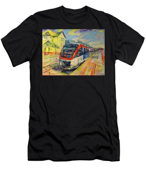 Regiobahn Mettmann Men's T-Shirt (Athletic Fit)