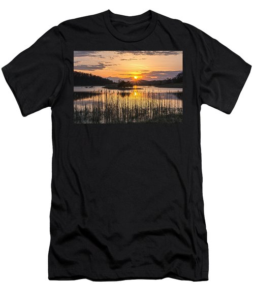 Rejoicing Easter Morning Skies Men's T-Shirt (Athletic Fit)