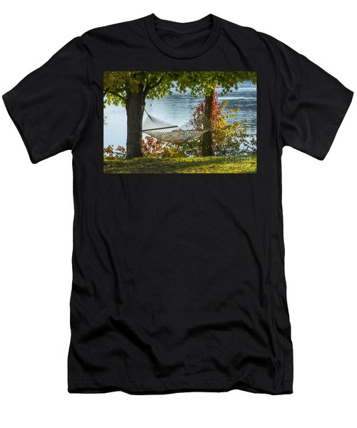 Relax By The Water Men's T-Shirt (Athletic Fit)