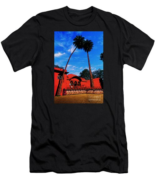 Relax With Nature Men's T-Shirt (Slim Fit) by Manjot Singh Sachdeva