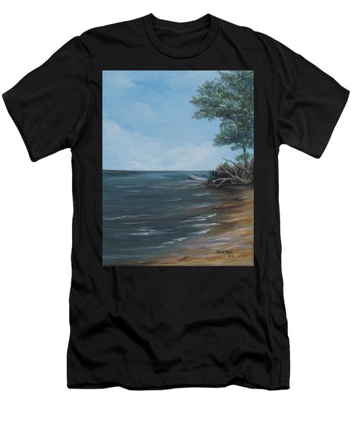 Relaxation Island Men's T-Shirt (Athletic Fit)