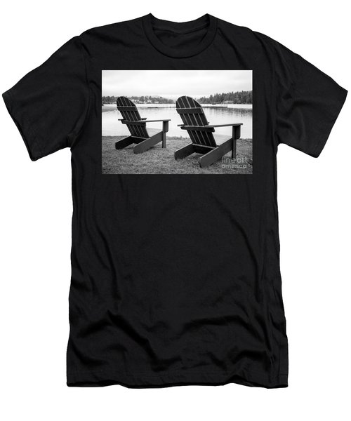 Relaxing At The Lake  Men's T-Shirt (Athletic Fit)