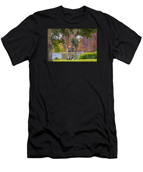 Relaxing At The Palace Men's T-Shirt (Athletic Fit)