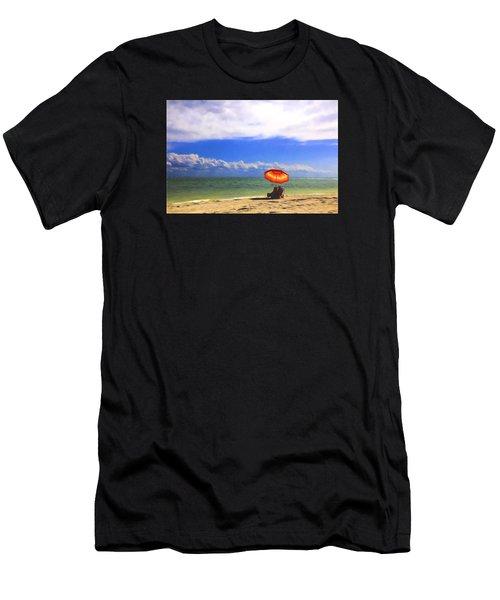Relaxing On Sanibel Men's T-Shirt (Athletic Fit)