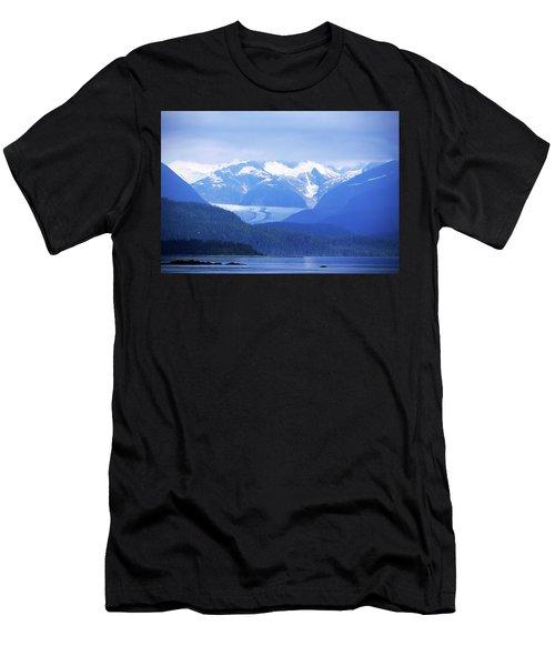 Remains Of A Glacier Men's T-Shirt (Athletic Fit)