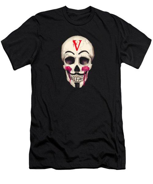 Remember, Remember Art Print Men's T-Shirt (Athletic Fit)