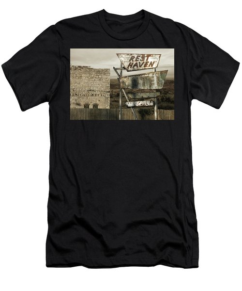 Remember The Mother Road Men's T-Shirt (Athletic Fit)
