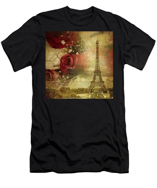 Remembering Paris Men's T-Shirt (Athletic Fit)