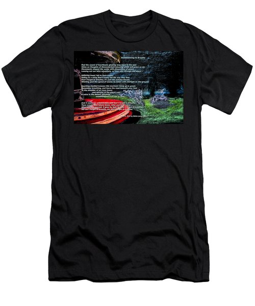 Remembering To Breathe Men's T-Shirt (Athletic Fit)