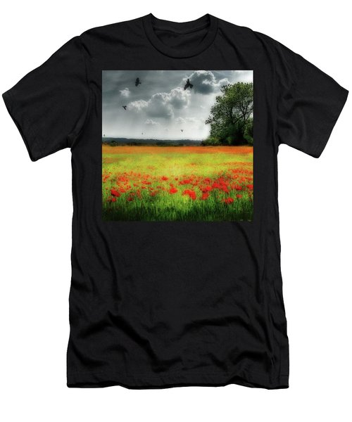 Remember #rememberanceday #remember Men's T-Shirt (Slim Fit) by John Edwards