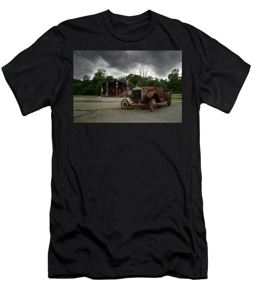 Men's T-Shirt (Slim Fit) featuring the photograph Remnants Of Yesterday by Renee Hardison