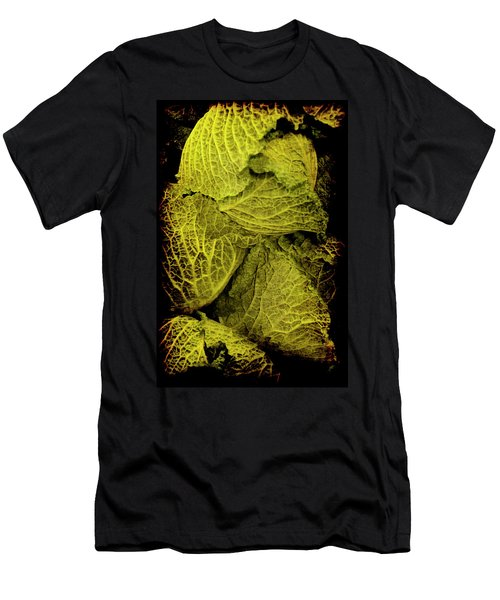 Men's T-Shirt (Athletic Fit) featuring the photograph Renaissance Chinese Cabbage by Jennifer Wright