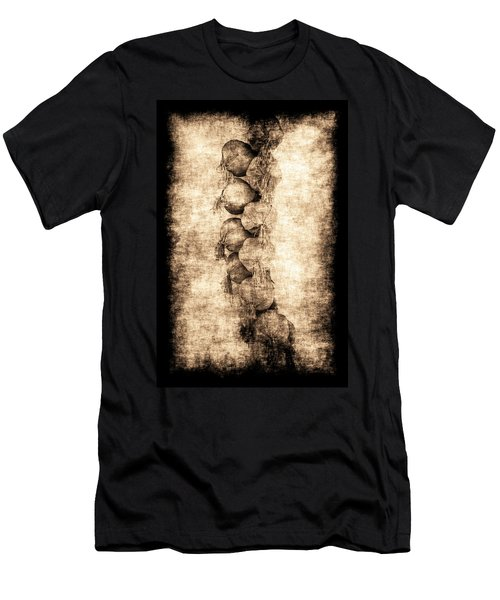 Men's T-Shirt (Athletic Fit) featuring the photograph Renasiaance Garlic by Jennifer Wright