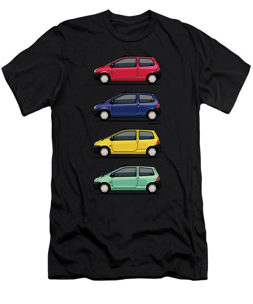 Renault Twingo 90s Colors Quartet Men's T-Shirt (Athletic Fit)