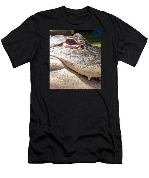 Reptilian Smile Men's T-Shirt (Athletic Fit)