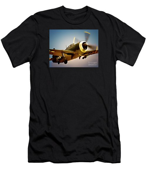 Republic P-47 Thunderbolt Thunder Jug Men's T-Shirt (Athletic Fit)