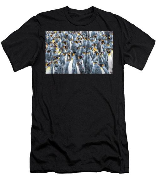 Republicans Discussing Climate Change. Men's T-Shirt (Athletic Fit)