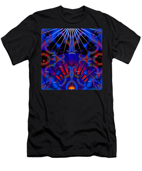 Men's T-Shirt (Slim Fit) featuring the digital art Resist by Robert Orinski