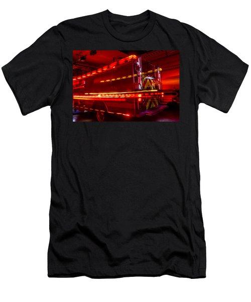 Responding Code 3 Men's T-Shirt (Athletic Fit)