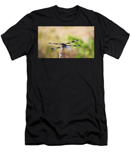 Rest Area, Dragonfly On A Branch Men's T-Shirt (Athletic Fit)