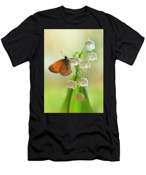 Men's T-Shirt (Athletic Fit) featuring the photograph Rest In The Morning Sun by Jaroslaw Blaminsky