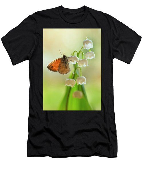 Rest In The Morning Sun Men's T-Shirt (Athletic Fit)
