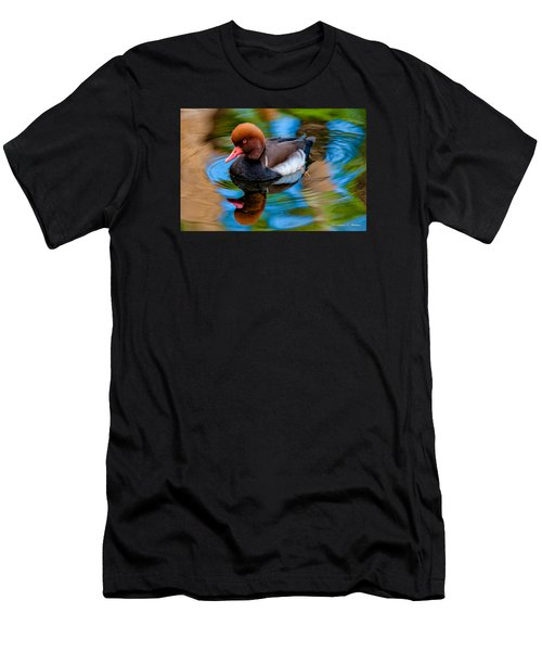 Resting In Pool Of Colors Men's T-Shirt (Athletic Fit)