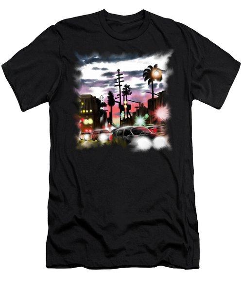 Restless City Men's T-Shirt (Athletic Fit)