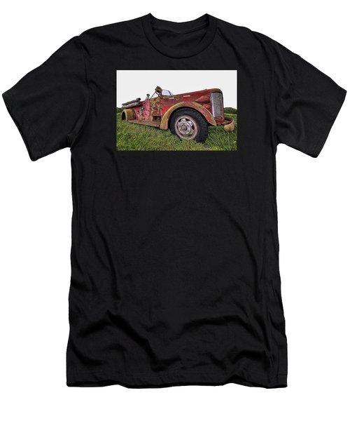 Retired Hero Men's T-Shirt (Athletic Fit)