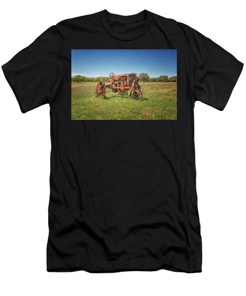 Retired Tractor Men's T-Shirt (Athletic Fit)