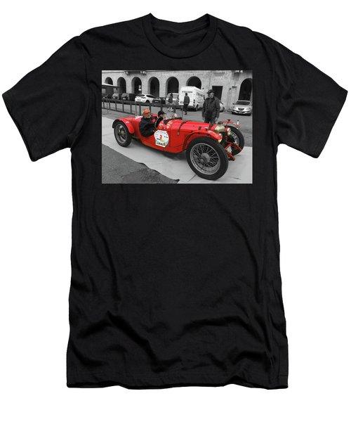 Retro Auto Fiat Balilla Men's T-Shirt (Athletic Fit)