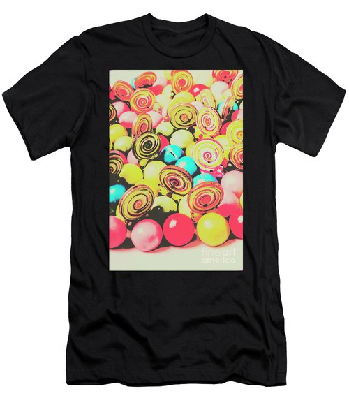 Retro Confectionery Men's T-Shirt (Athletic Fit)