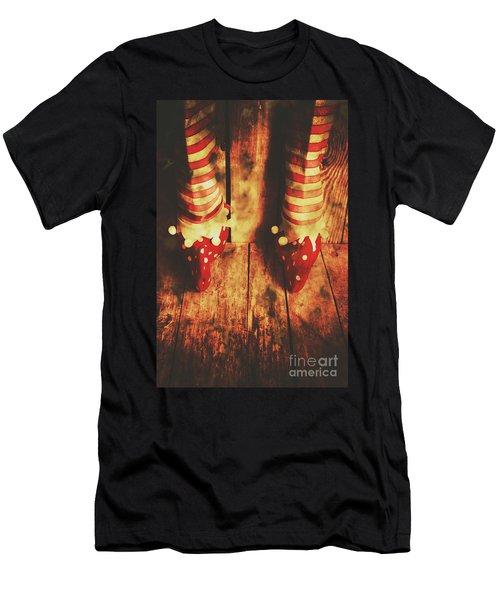 Retro Elf Toes Men's T-Shirt (Athletic Fit)