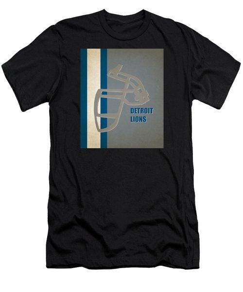 Retro Lions Art Men's T-Shirt (Athletic Fit)