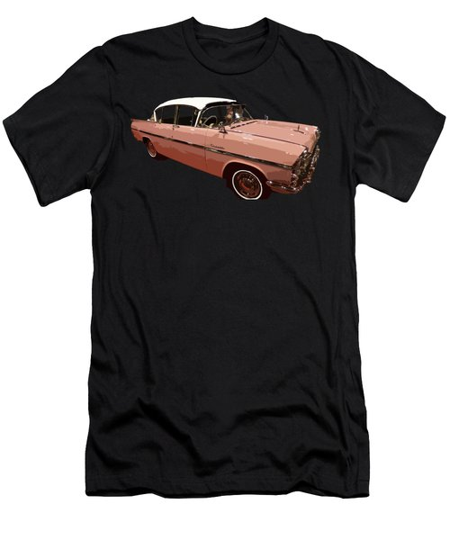 Retro Pink Car Art Men's T-Shirt (Athletic Fit)