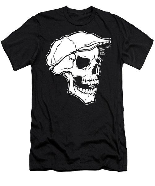 Retro Skull Men's T-Shirt (Athletic Fit)