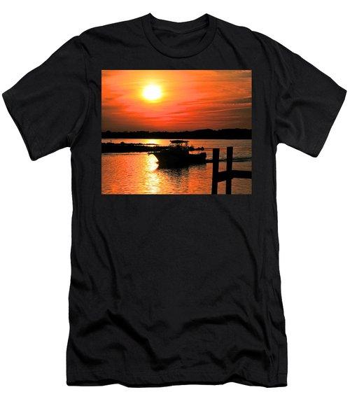 Return At Sunset Men's T-Shirt (Athletic Fit)